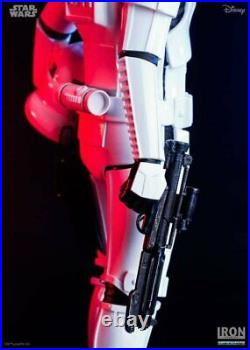Han Solo Stormtrooper Star Wars Statue Figure by Iron Studios 110 Scale Limited