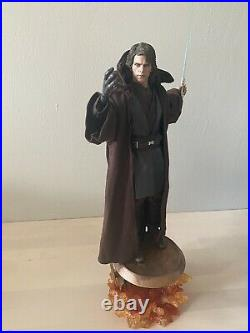 Hot Toys Collectibles Dark Side Anakin Sideshow Exclusive (Opened)