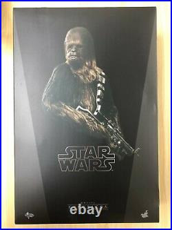 Hot Toys MMS 262 Star Wars Episode IV A New Hope Chewbacca 14 inch Figure NEW