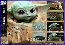 Hot Toys Star Wars Mandalorian The Child Grogu Life Size Figure IN STOCK