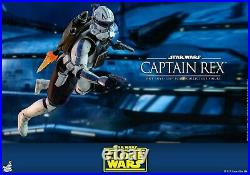 Hot Toys Star Wars The Clone Wars 1/6 Captain Rex Collectible Figure TMS018