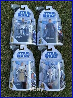 Lot Of 4 Star Wars Black Series The Clone Wars Target Exclusive 6 Inch