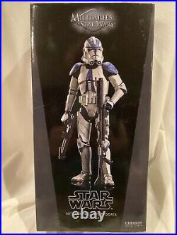 New Sideshow Star Wars 1/6 Scale 501st Clone Trooper Revenge of the Sith ROTS
