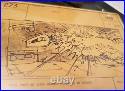 Original signed storyboard from Star Wars Episode IV A New Hope (1977)