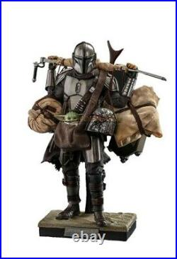 (Pre Order) Hot Toys The Mandalorian And Grogu (Deluxe Version)
