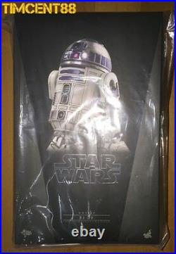 Ready! Hot Toys Star MMS408 Wars Episode EP VII The Force Awakens R2-D2 R2D2
