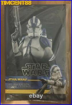 Ready Hot Toys TMS022 STAR WARS THE CLONE WARS 1/6 501ST BATTALION CLONE TROOPER