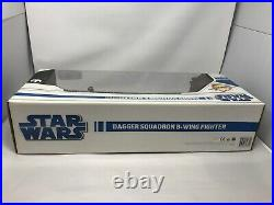 Star Wars Legacy Collection Dagger Squadron B-Wing Fighter Toys R Us NIB 2008