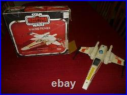 Star Wars Vintage ESB X-Wing Fighter with the Original Box