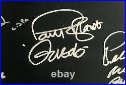 Star Wars cast signed album harrison ford carrie fisher john williams not poster