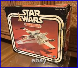 Vintage Star Wars 1978 X-Wing Fighter by Kenner withbox and Instruction Manual
